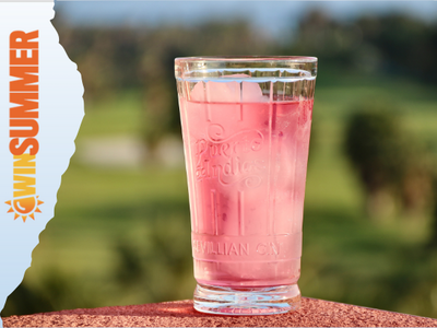 Inspirited Summer Berries and Hibiscus Pink Gin sweepstakes