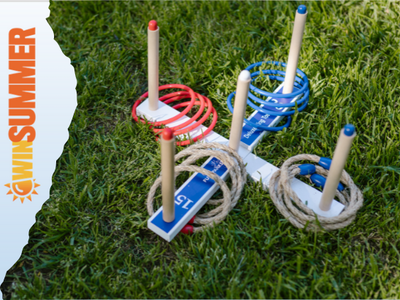 Jaques of London Quoits - Garden Quoits set or RING TOSS sweepstakes