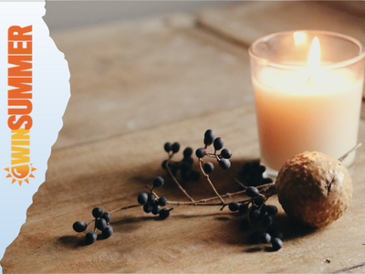Yankee Scented Candle: Dreamy Summer Nights Small Jar Candle sweepstakes