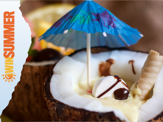 Eco Friendly Biodegradable Real Coconut Hawaiian Style Cocktail Cups by CoCo Nation sweepstakes