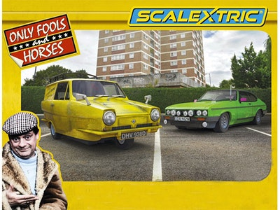 Scalextric Only Fools and Horses twin pack sweepstakes