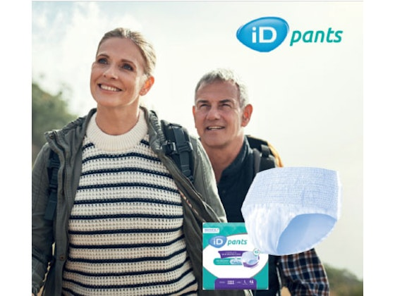 iD Pants Complete Skin Protection in sizes Maxi M, L & XL sweepstakes