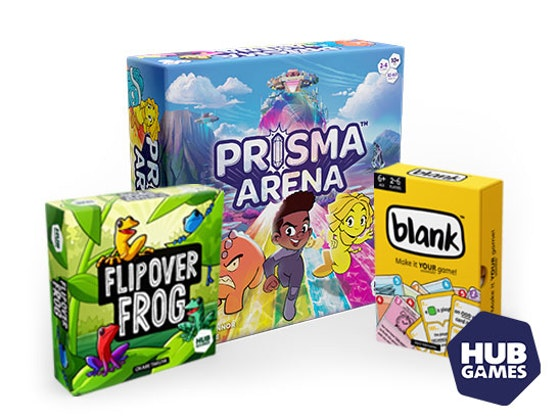 Family games from Hub Games sweepstakes