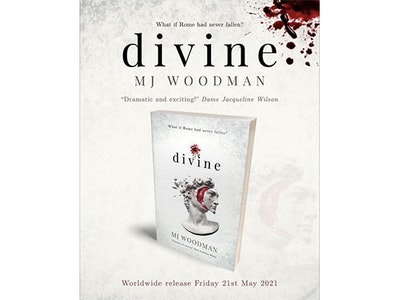 DIVINE by M.J. Woodman, Signed sweepstakes