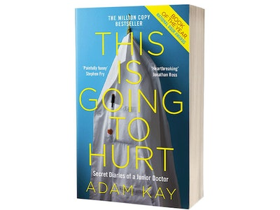 This is Going to Hurt (Secret Diaries of a Junior Doctor) by Adam Kay's UK tour  sweepstakes