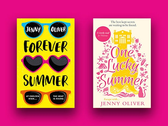 Forever Summer & One Lucky Summer by Jenny Oliver sweepstakes