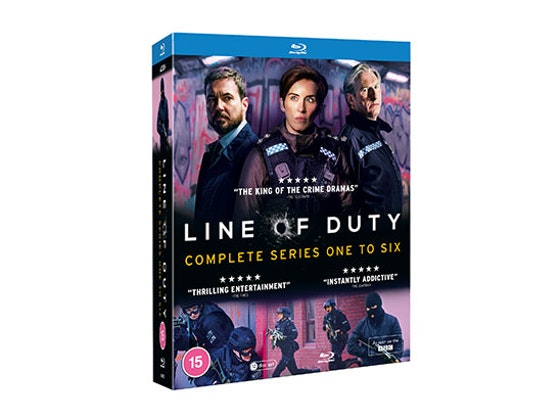 Line of Duty Complete Series One To Six Blu-ray Box Set sweepstakes