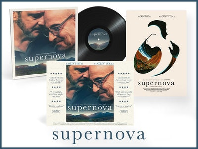 SUPERNOVA VINYL SOUNDTRACK, POSTER AND LIMITED-EDITION ARTWORK sweepstakes