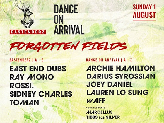 4 VIP Tickets to Forgotten Fields Festival  sweepstakes