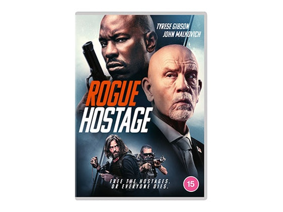Rogue Hostage on DVD sweepstakes