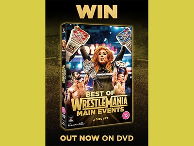 DVD copy of Best of WrestleMania Main Events sweepstakes