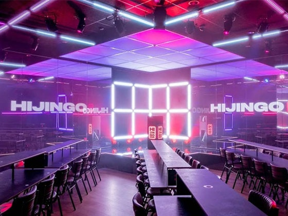 TICKETS TO HIJINGO PLUS A MEAL AND DRINK sweepstakes