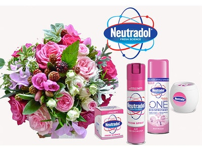 6 MONTHS OF FRESH FLOWERS thanks to Neutradol sweepstakes
