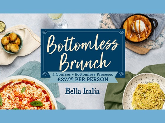 Bottomless Brunch at Bella Italia sweepstakes