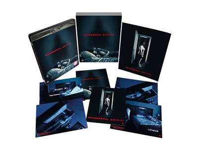 'PARANORMAL ACTIVITY' LIMITED EDITION BLU-RAY BOX SET sweepstakes