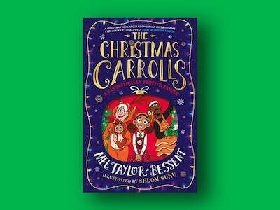 paperback copy of The Christmas Carrolls sweepstakes