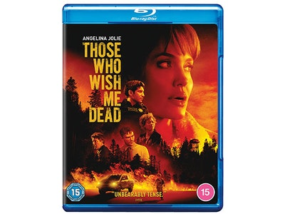 """Win a Copy of """"THOSE WHO WISH ME DEAD"""" on Blu-Ray sweepstakes"""