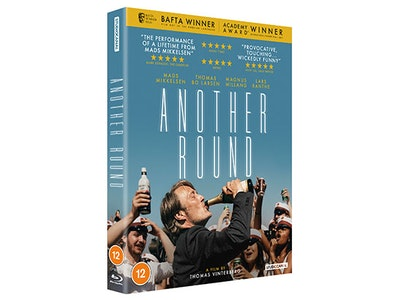 Win a copy of the Oscar winning film Another Round on Blu Ray starring Mads Mikkelsen sweepstakes