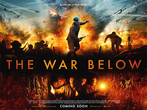 Win a The War Below Limited Edition Poster sweepstakes