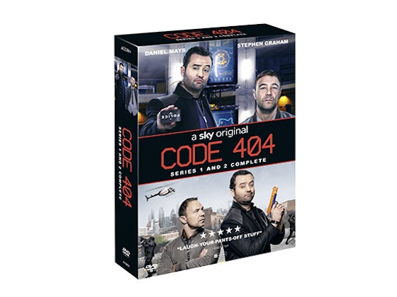 Win 'Code 404' Series 2 on DVD sweepstakes