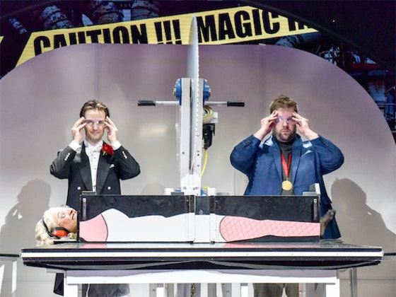 WIN four tickets to see MAGIC GOES WRONG in the West End sweepstakes
