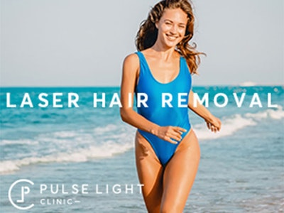 win FOUR underarm laser hair removal sessions at Pulse Light Clinic in London sweepstakes