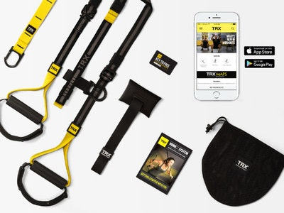 12 months full access to Live and on-demand TRX training workouts + a TRX bundle sweepstakes