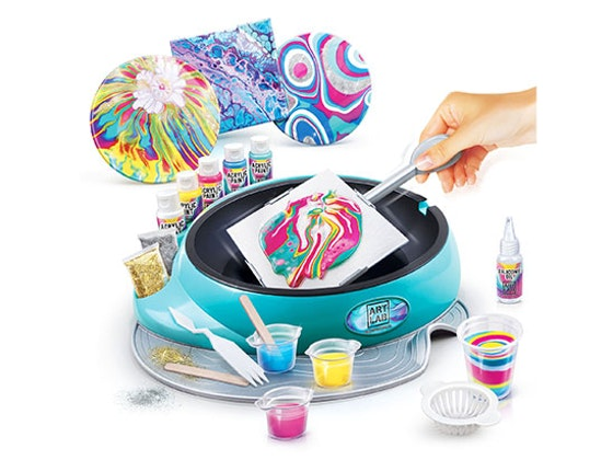 win the new Art Lab Pouring Studio sweepstakes