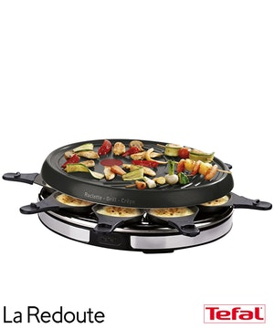 Raclette gril crepes tefal