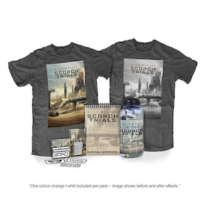 Scorch trials merchandise packshot