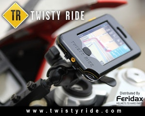 Twistyride iphone mount