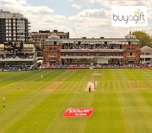 Pavilion view match day