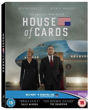 House of cards season 3 sbrp619801uv 3d special packaging